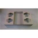 Fold up Cup Tray - 4 Cup
