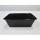 C1000 Black Rectangular Container
