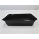 C500 Black Rectangular Container