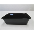 C650 Black Rectangular Container