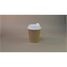 8oz  Brown Ripple Wrap Cup