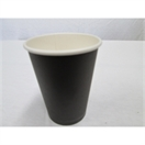 16 oz Single Wall Black Cup Combo