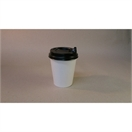 8 oz Single Wall White Cup Combo