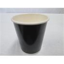8oz Black Double Wall Cup