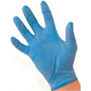 Nitrile Soft Gloves Medium Blue - Powder Free