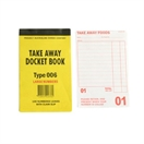 006 Single Take Away Docket Book